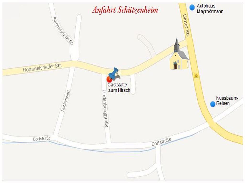 Anfahrt Schützenheim